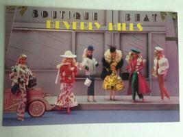 Barbie VTG Postcard Barbie Doll Collector Christmas Gift Beverly Hills Z29 - $11.63