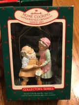 Hallmark Collector 's Series Home Cooking Handcrafted Ornament Dated 1987 - $21.33