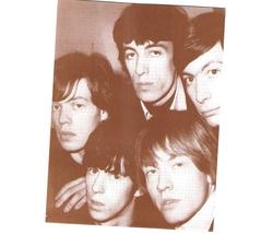 Mick Jagger Keith Richards 1965 WB Vintage 8X10 Sepia Music Memorabilia Photo - $4.99