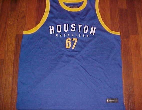 buy popular f2ff2 e15b9 Houston Mavericks 1967 ABA Reebok Hardwood and 50 similar items