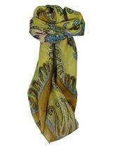 Mulberry Silk Classic Square Scarf Querim Gold by Pashmina & Silk - $26.59