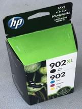 HP 902XL/902 Ink Cartridge Combo Pack - 4 HP Original Cartridges May 2020 - New - $49.99
