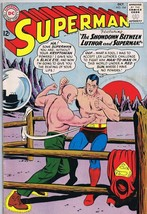 Superman #164 ORIGINAL Vintage 1963 DC Comics Lex Luthor Showdown - $197.99