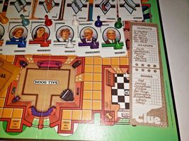 Clue the Board Game Classic Detective by Parker Brothers 1986 Vintage.. Complete image 3