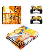 PS4 Pro Console Dualshock Skin Anime Naruto Uzu... - $12.00