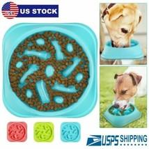 Fun Feeder Dog Bowl Slow Feed Interactive Bloat Stop Feeding Plate BPA-Free - $11.20