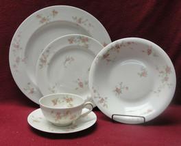 Theodore Haviland, Ny - Pink Spray Pattern - 5-piece Place Setting w/Soup Bowl - $26.95