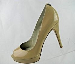 Michael Kors Women's Patent Leather Dark Beige Heels 2290 Sz 9.M - $60.57