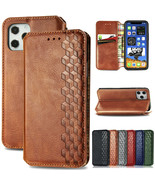 Flip Leather Wallet magnetic Case Cover for Apple iPhone 12 Pro Max/12 P... - $53.87