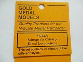 Gold Medal Models # 160-48 Stirrrups for Cab Type Diesel Locomotives N-Scale image 2