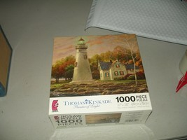 "Thomas Kinkade Serenity Cove 1000 Piece Jigsaw Puzzle 27"" X 20"" Ceaco 2008 - $14.84"