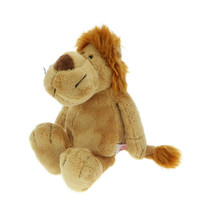 NICI Lion Brown Stuffed Animal Plush Toy Dangling 10 inches 25 cm - $24.00