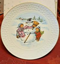 Avon CHRISTMAS PLATE 1986 A Child's Christmas