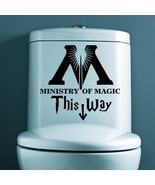Harry Potter Ministry Of Magic Bathroom wall st... - $11.99