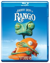 Rango (Blu-ray/DVD, 2011, 2-Disc Set)