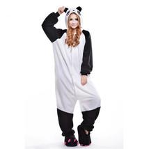 Adults' Kigurumi Pajamas Panda Onesie Pajamas Polar Fleece White Cosplay... - $18.00