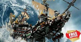 Compatible MOC Pirates Caribbean The Silent Mary Building Toy Blocks 234... - $135.00