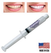 22% Whitening Gel Syringe ( 10cc = 40 apps! ) Professional Teeth Whiteni... - $5.29