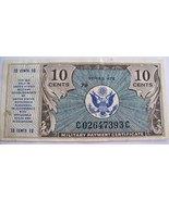 Military Payment Certificate~10 Cents~Series 472~C02647393C~Crisp~Excell... - $39.99