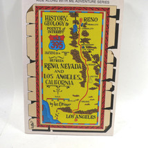 US 395 Route Guidebook, Central Valley, East California, Manzanar 406 - $11.30