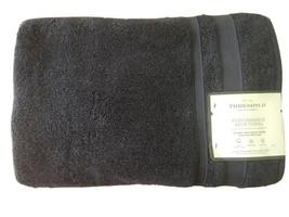 "Threshold Performance Blue Hand Towel- Navy Blue-  30""x54"" image 1"