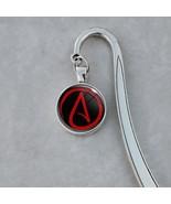 Atheist Symbol Skeptic Freethinker  Bookmark - $18.00