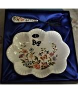 Aynsley - Vintage Cottage Garden serving dish, English Bone China - $19.00