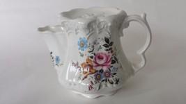 Vintage Staffordshire Bone China Creamer Wild Flowers - $24.74