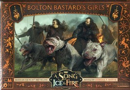 CMON Dark Sword: A Song of Ice & Fire: Bolton Bastard's Girls Unit Box - $21.51