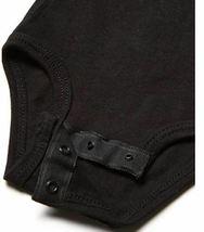 Marky G Apparel Baby Boys' Fine Jersey Bodysuit 2pk Black/Green Apple- 18 Months image 3