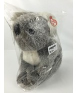 "Ty Classic Beaut Koala Bear Ear Tag 12"" Stuffed Animal Toy Gray White - $14.70"