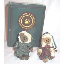 "Boyds Bearstone ""Matthew & Bailey"" Bearstone- Orn Set of 2- #9227RSN- 19... - $21.99"
