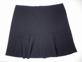 New Womens $235 Theory Skirt Black Ruffle Gida 10 Date Office Nice Warm ... - $105.75