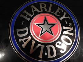 """OEM HARLEY DAVIDSON LOGO 10"""" Diameter Silver Metal Can Free Shipping - $18.69"""