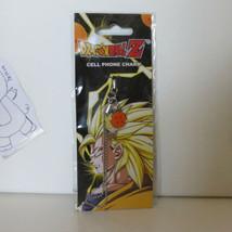Dragon Ball Z Super Saiyan Goku Metal Phome Charm GE7550 *NEW* - $23.99