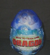 How to train your Dragon 3 The Hidden World purple egg & marks gronckle plush - $36.09