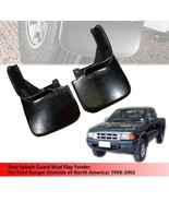 Rear Splash Guard Mud Flap For Ford Ranger 1998-2002 Pickup (NO For USA ... - $70.83