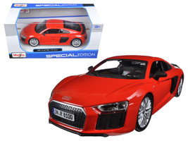 Audi R8 V10 Plus Red Special Edition 1/24 Diecast Model Car by Maisto - $23.99