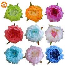 5pcs Artificial Peony Heads Decorative Simulation DIY Silk Flower Head f... - ₨786.03 INR