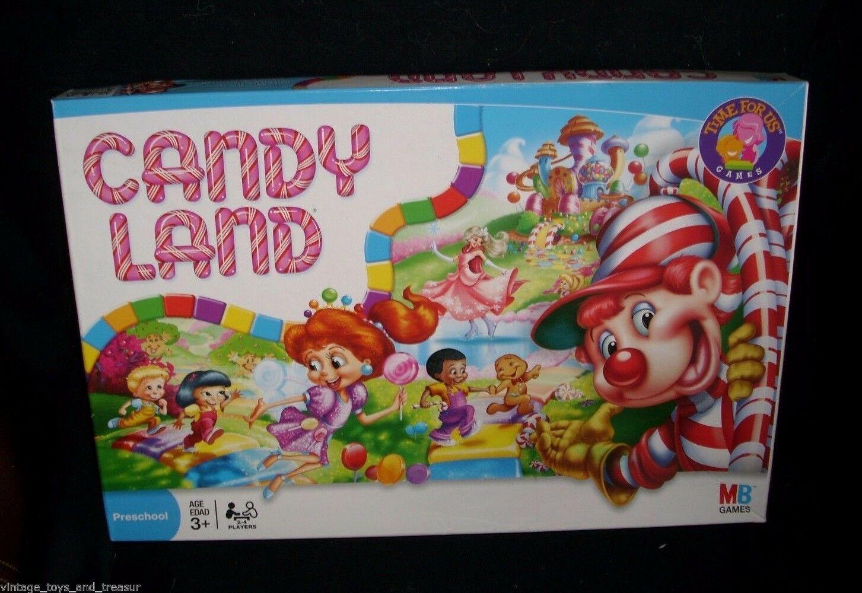 Milton Bradley Candy Land Board Game (2000s): 1 listing