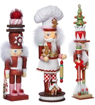 Kurt Adler Hollywood Gingerbread Chef Nutcracker Wooden 15 Inch Ballet F... - $79.33