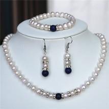 2021 new fashion charming free shipping 7-8MM White Akoya Cultured Pearl... - $22.83