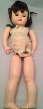 "Vintage 11"" Rosebud Doll Unassembled with Clothes Made in England - $10.73"