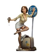 1/22 Scale 80MM Poker Girl C model Bus Stop Sexy Figure Resin Model Kits... - $31.89