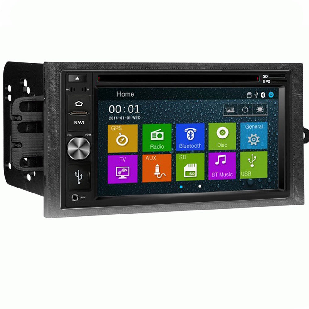 DVD GPS Navigation Multimedia Radio and Kit for Chevrolet Chevy Malibu 2002