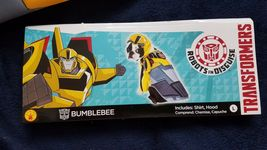 Bumblebee Transformers Pet Dog Costume Small Or Large Rubie's Brand Black Yellow image 10