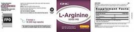 GNC L-Arginine 5000mg - Orange - Twin Pack - $166.50