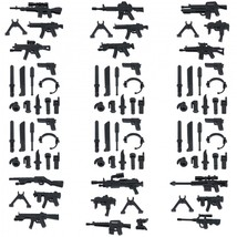 Custom Minifigures Military Army Guns Weapons Compatible w/ Lego Sets Mi... - $10.49