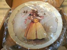 The Little Captive Hamilton Collection Little Ladies  Collector Plate 1989 - $11.25