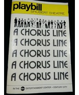 Playbill Shubert Theatre A chorus Line Century City April 1977 magazine ... - $19.80